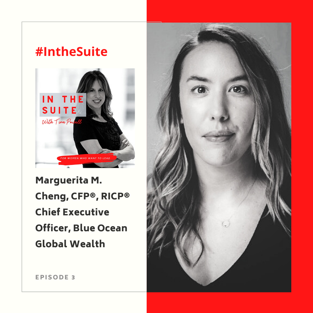 In the Suite Podcast Ep 5: The Power of Connection with Sasha Pilch, Co-Founder of NYC Fintech Women